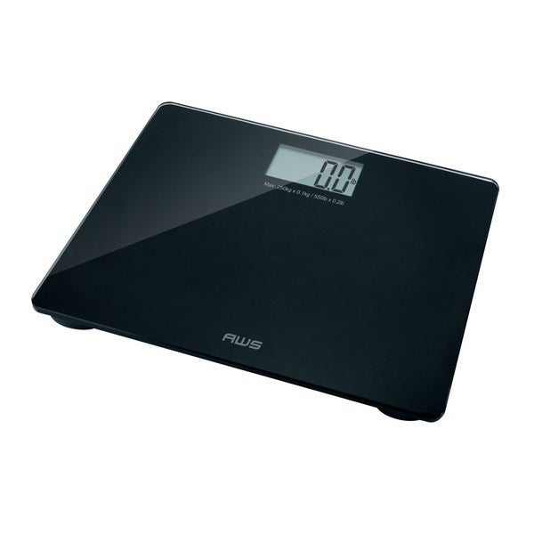 Shop aws large capacity digital bath scale with voice as is item free shipping on orders for Large capacity bathroom scale