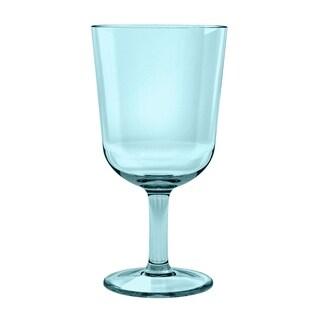 16 Oz Simple Aqua Wine Glass