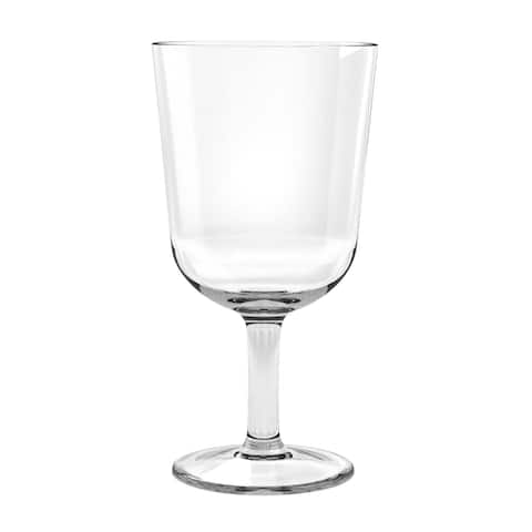 16 Oz Simple Clear Wine Glass