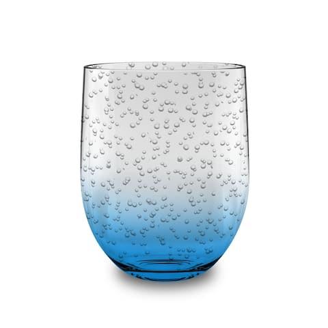 16 Oz Bubble Stemless Ocean Blue