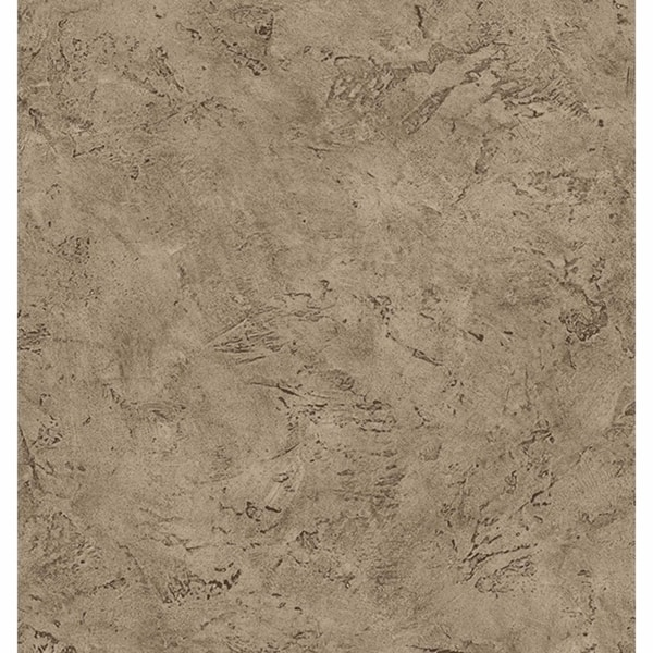 Paleo Brown Faux Fossil Texture Wallpaper. Opens flyout.