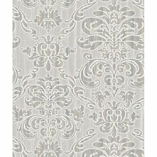 Grey Marcella Wallpaper