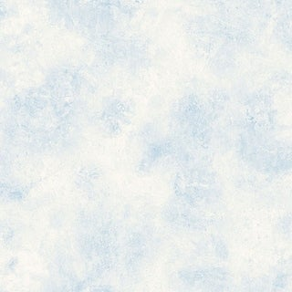 Vessa Blue Scroll Texture Wallpaper