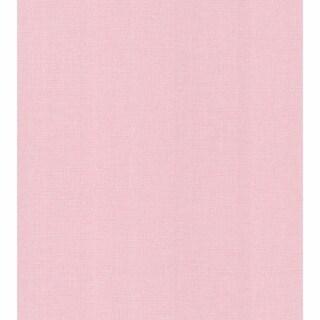 Lino Pink Fabric Texture Wallpaper