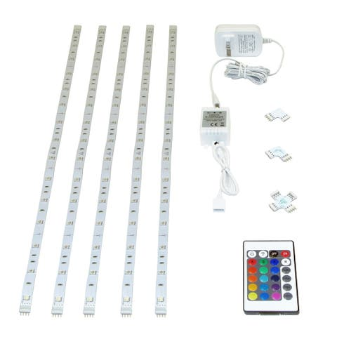 DALS WIFI Controlled RGBW 5M Smart LED Tape Light Kit - 196""