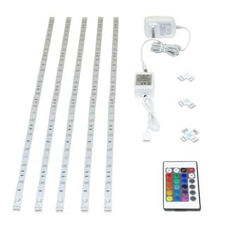 Wifi Controlled RGBW 5M Smart LED Tape Light Kit