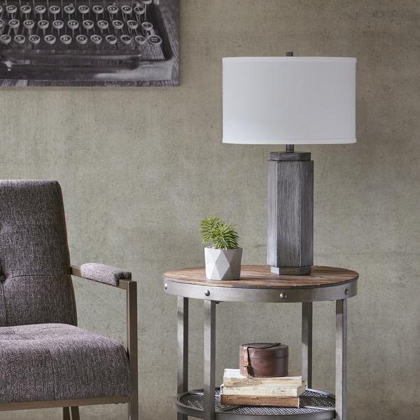 INK+IVY Buford Bronze Metal Table Lamp