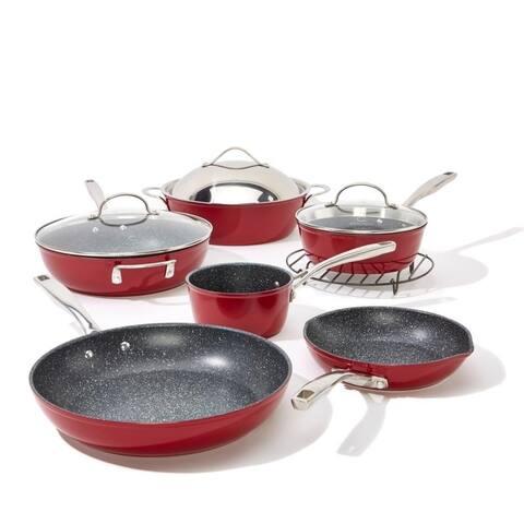 Curtis Stone Dura-Pan Nonstick 10-piece Chef's Cookware Set