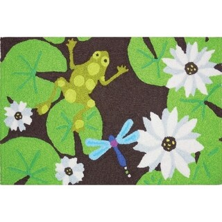 Jellybean Rug Lily Pad Frog