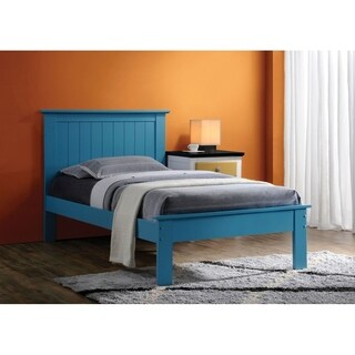 Wrentos Blue Finish Bed