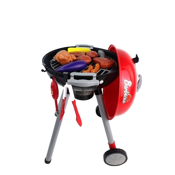 Sizzling Barbecue Children X27 S Toy Bbq Grill Pretend Play Playset