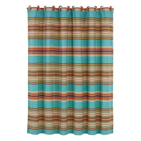 HiEnd Accents Serape HiEnd Accents Shower Curtain, 72x72