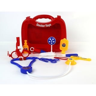 Super Imagination Doctor Red Toy Medical Doctor Playset