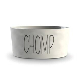 Ceramic Chunky Organic Medium Pet Bowl
