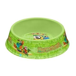 Margaritaville® Tropical Icons Medium Pet Bowl Green