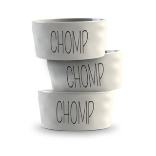 Ceramic Chunky Organic Small Pet Bowl