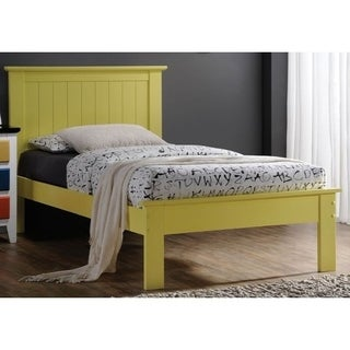 Wrentos Yellow Finish Bed