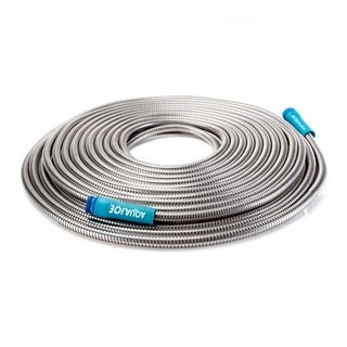 Sun Joe AJSGH75 Heavy-Duty Spiral Constructed Metal Garden Hose
