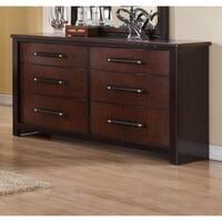 Lyke Home Cherry-finish Wood Dresser
