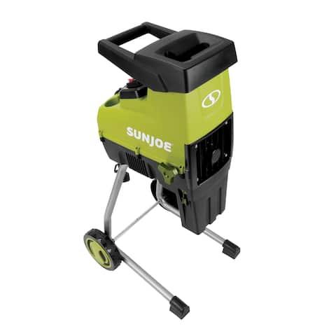 Sun Joe CJ603E Cutting Diameter Electric Silent Wood Chipper/Shredder 15-Amp 1.7-Inch