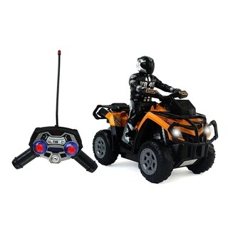 Motor Racing Cross Country Toy RC ATV 4-Wheel Motorcycle 1-10 Scale