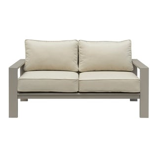 Emerald Home Sheridan champagne outdoor loveseat OU1077-01-05