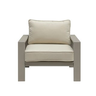 Emerald Home Sheridan champagne outdoor lounge chair OU1077-02-05