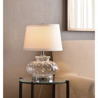 "Jessup 21"" Table Lamp - Clear Glass"