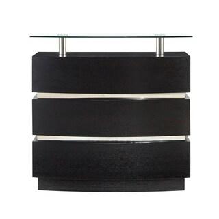Global Furniture Bar Cabinet, Wenge