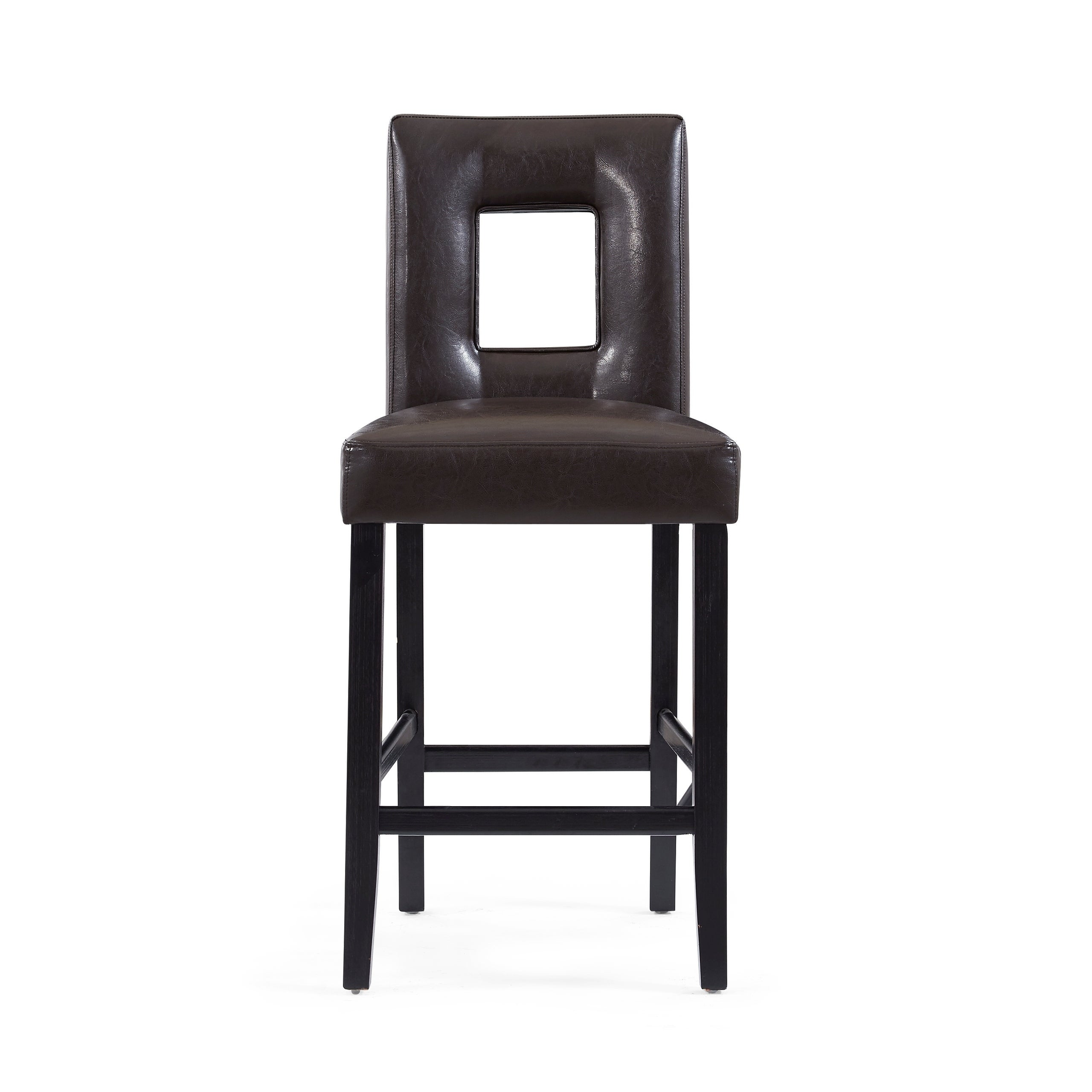 Details About Global Furniture Brown Cut Out Bar Stool