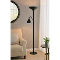 "Design Craft Ranch 71"" Mother and Son Floor Lamp - Oil Rubbed Bronze"