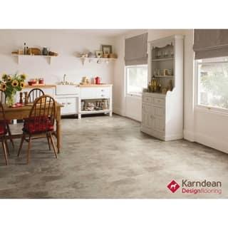 Canaletto by Karndean Designflooring - Arctic Stone Pet Friendly, Waterproof Locking LVT