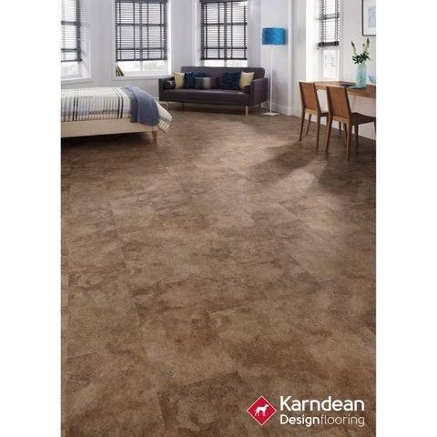 Canaletto by Karndean Designflooring - Autumn Stone Waterproof Locking LVT 12x24/10pcs/20sqft