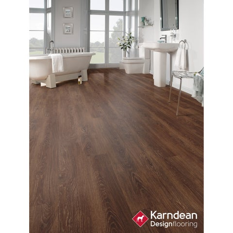 Canaletto by Karndean Designflooring - Mission Oak Waterproof Locking LVT 48x7/10 pcs/23.34 sqft