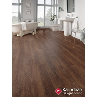 Canaletto by Karndean Designflooring - Mission Oak Pet Friendly, Waterproof Locking LVT