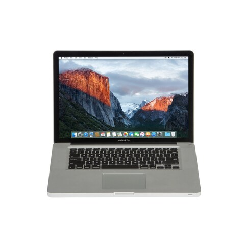 Apple MB990LL/A Macbook Pro 13.3-inch Core 2 Duo 4GB RAM 160GB HDD El Capitan- Refurbished