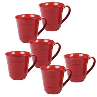 Certified International Orbit 14-ounce Mugs (Set of 6)