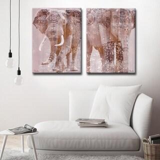 Ready2HangArt 'Wild Zen II-III' 2-Piece Wrapped Canvas Art Set (4 options available)
