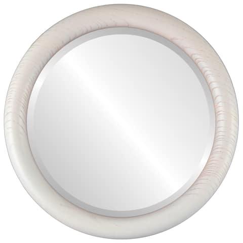 Buy White, Round, Medium (15''-32'' high) Mirrors Online ...