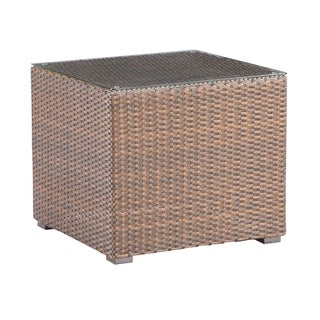 Emerald Home Firenza Coffee Brown Outdoor End Table