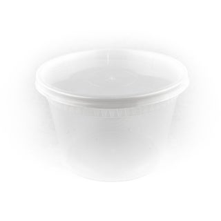 12 oz PP deli containers with Lids (40)
