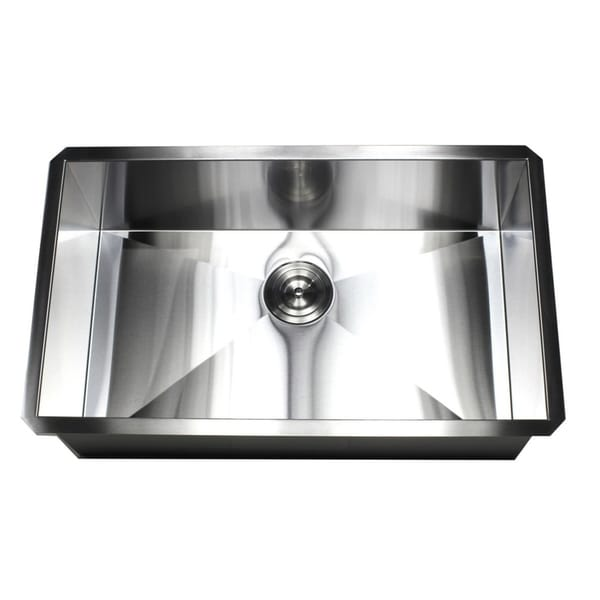 Shop 30 Inch Stainless Steel 16 Gauge Single Bowl