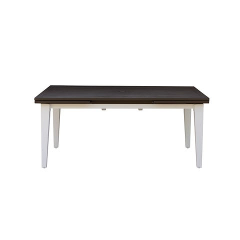 Emerald Home Mountain Side Brown Outdoor Dining Table