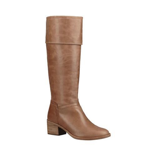 16949c8a1337 Shop Women s UGG Carlin Knee High Boot Taupe Leather - Free Shipping Today  - Overstock - 18041615