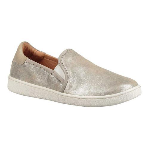 ccda58a625c6b Shop Women's UGG Cas Slip-On Sneaker Silver Metallic Suede - Free Shipping  Today - Overstock - 18041618