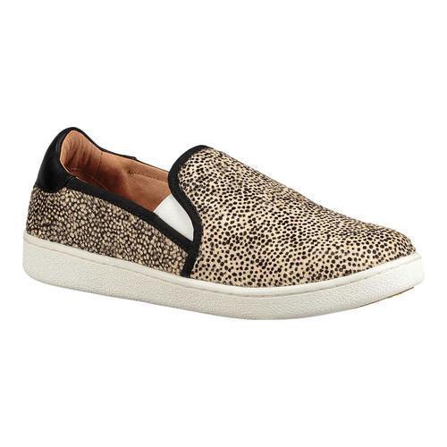 d1a801e07a Shop Women s UGG Cas Slip-On Sneaker Black Tan Dotted Calf Hair - Free  Shipping Today - Overstock - 18041619