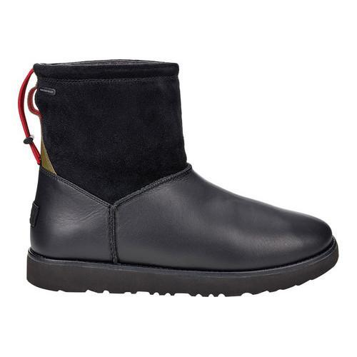 a3da62ed1 Shop Men's UGG Classic Toggle Waterproof Boot Black Suede/Leather - Free  Shipping Today - Overstock - 18041638