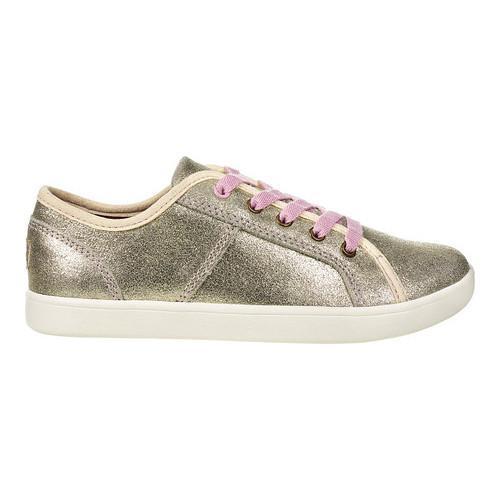 0d90c459ae Children's UGG Irvin Sneaker Gold Metallic Suede