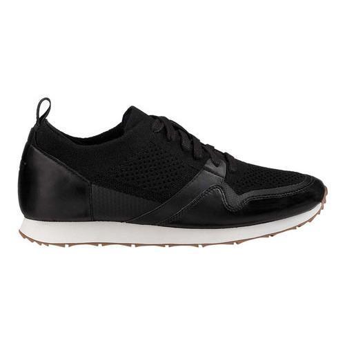 ... Men's UGG Trigo HyperWeave Sneaker Black Full Grain Leather/Textile  ...
