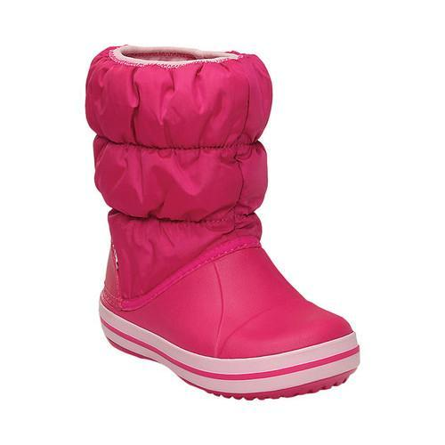 Shop Children s Crocs Winter Puff Boot Candy Pink - Free Shipping On Orders  Over  45 - Overstock.com - 18053689 08331e5c7ee6